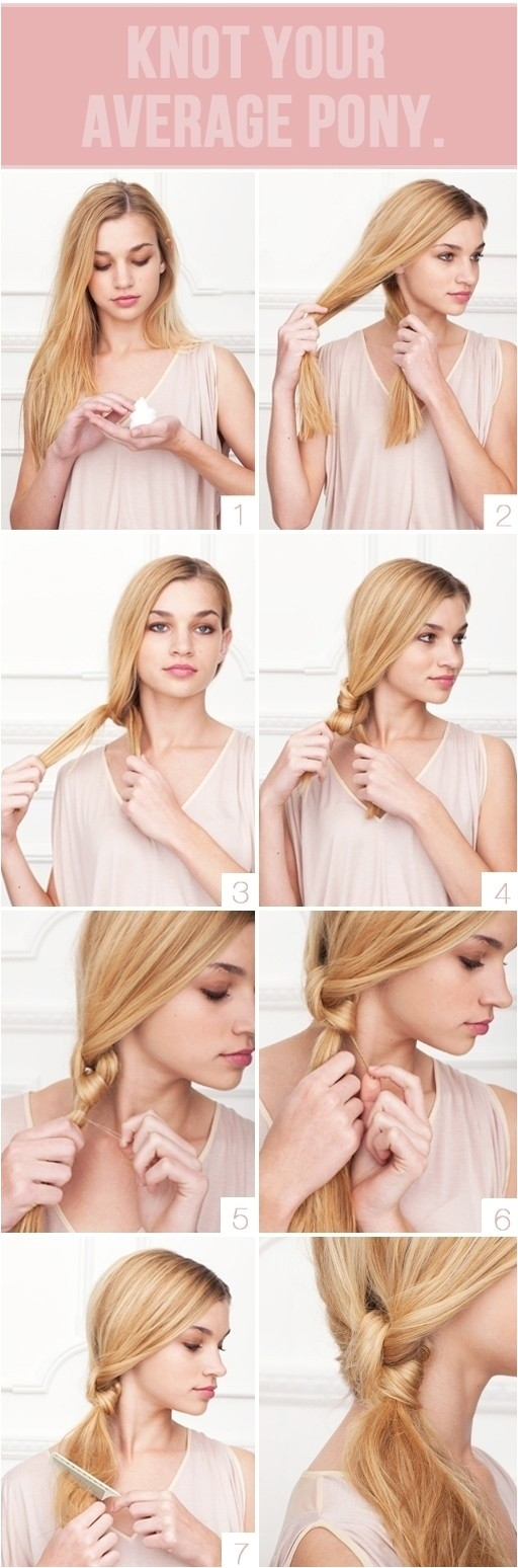 easy five minute hairstyles
