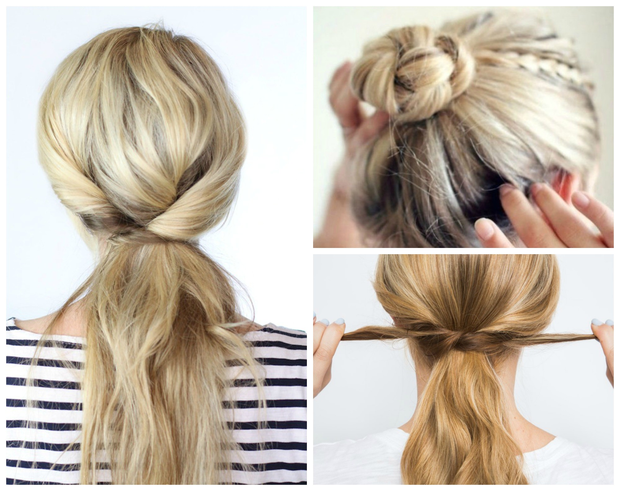 8 beyond easy 5 minute hairstyles crazy busy mornings