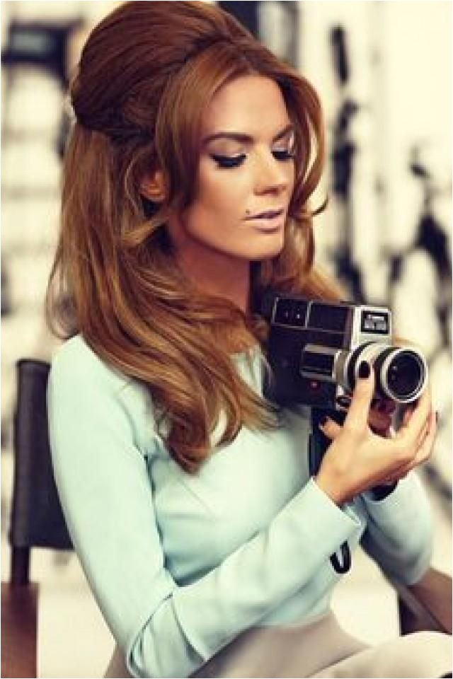 Easy 60s Hairstyles 1