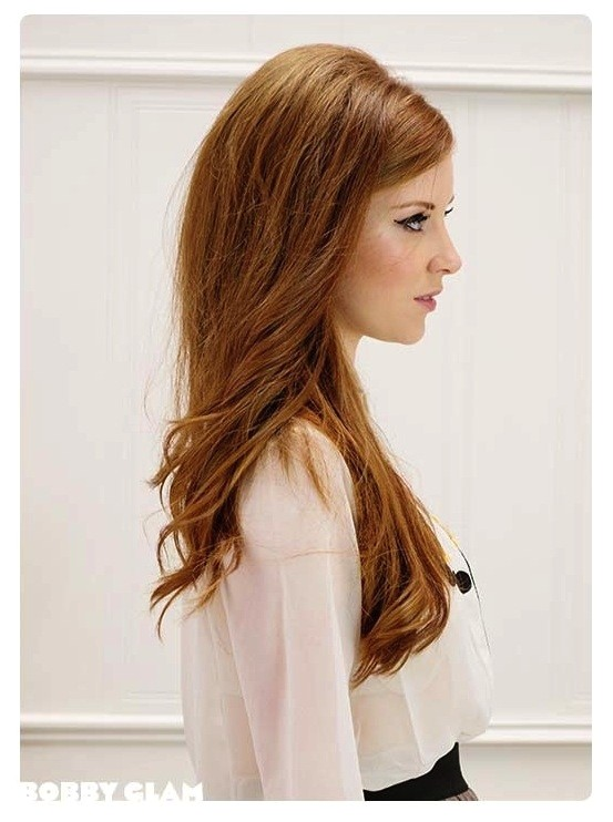 easy 60s hairstyles for long hair