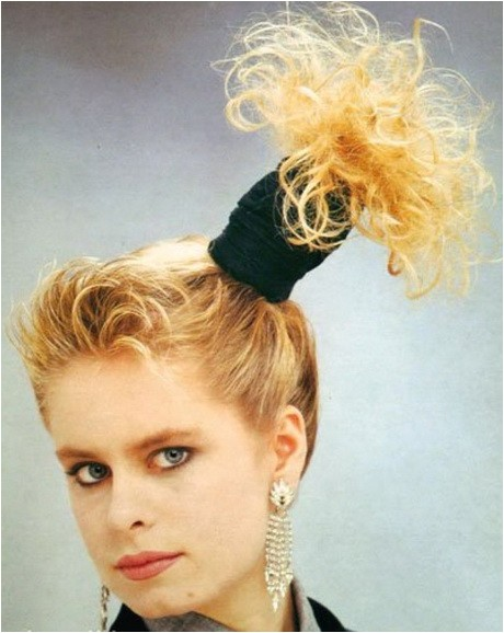 easy 80s hairstyles