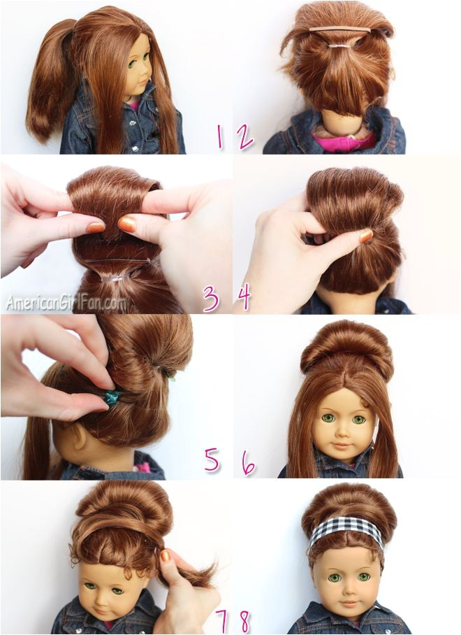 american girl doll hairstyles step by step