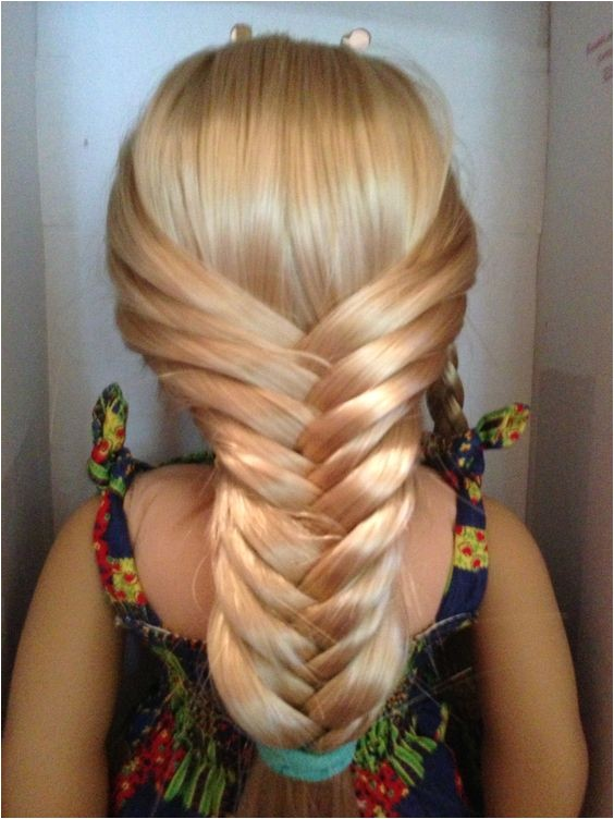Easy American Girl Doll Hairstyles Step by Step 2