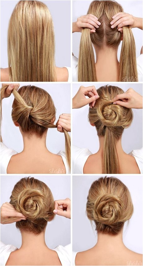 simple hairstyles to do at home