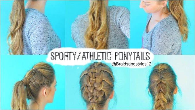 sporty hairstyles for school