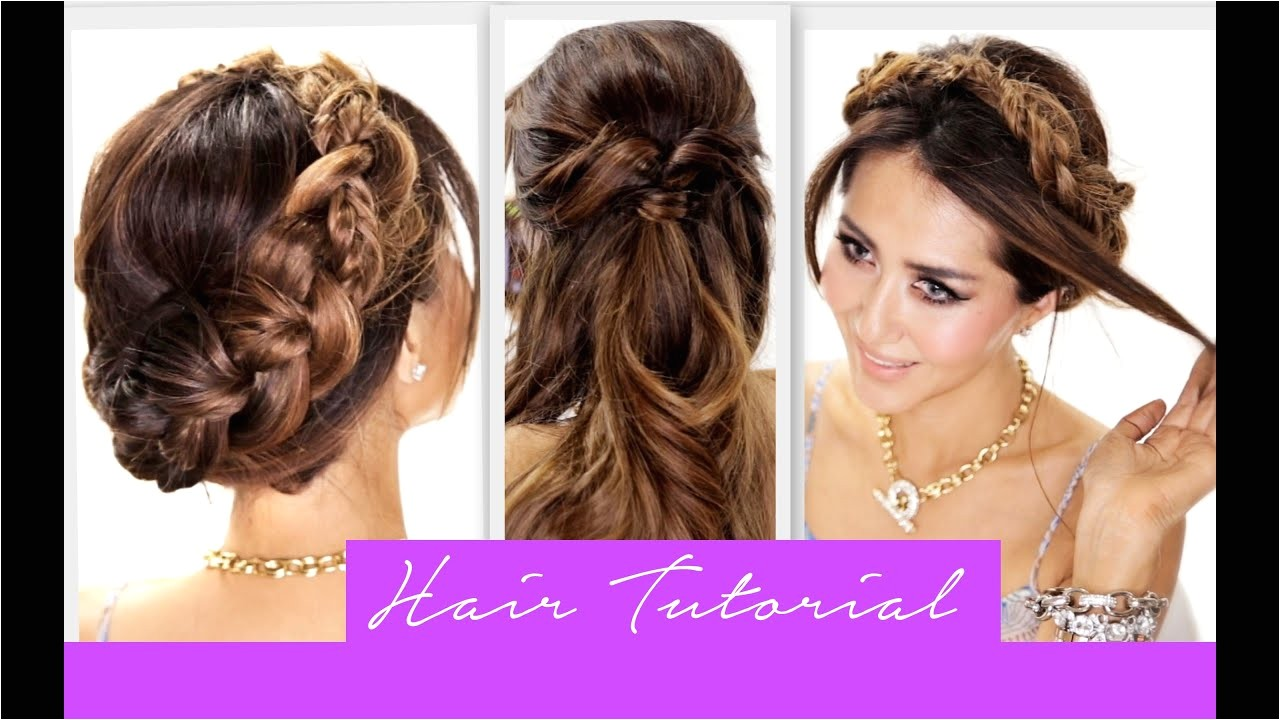 3 amazingly easy back to school hairstyles how to cute braids hairstyle hair