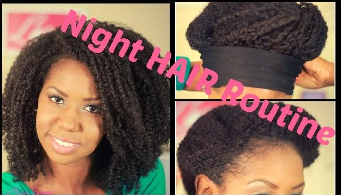 bedtime hairstyles
