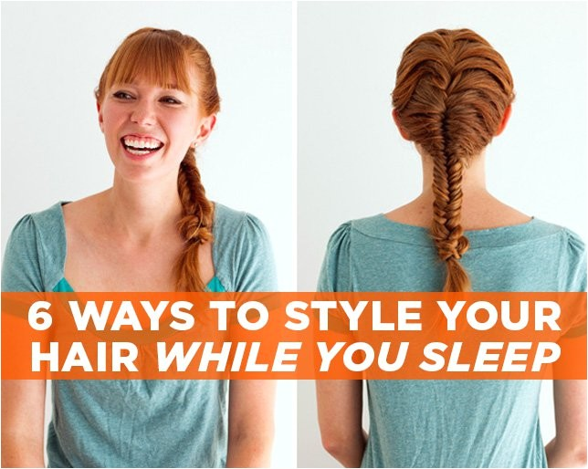 easy hairstyles to do for bed
