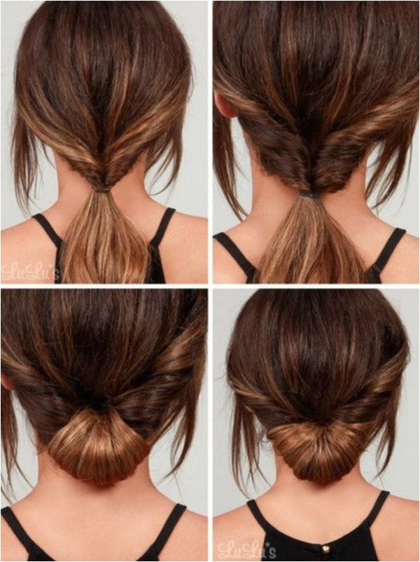 quick 5 minute hairstyles school