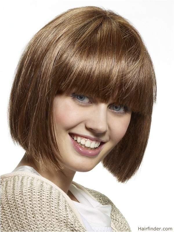 easy bob hairstyles with bangs