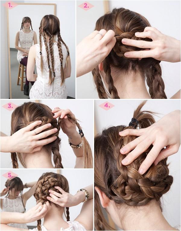12 diy braid tutorials great for brides