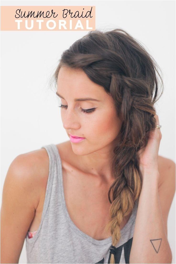 26 pretty braided hairstyle summer