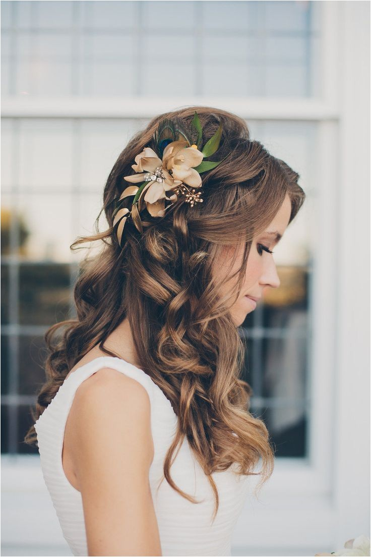 bridesmaid wedding hairstyles for long hair