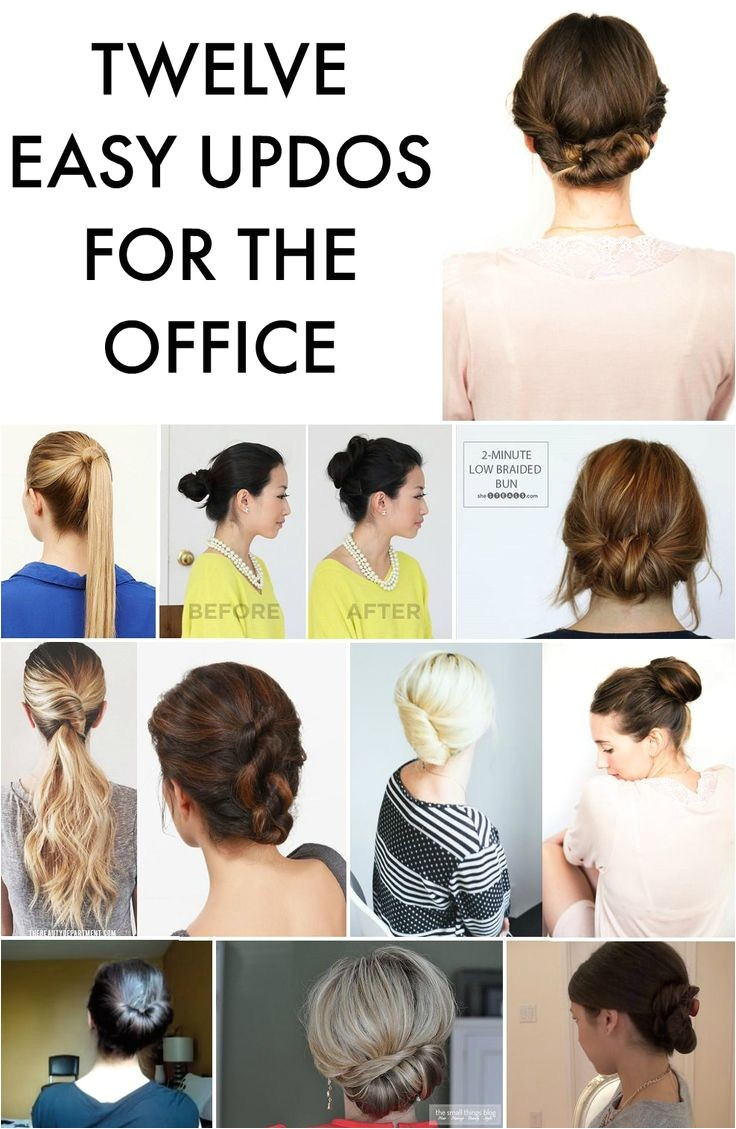 work appropriate hairstyles