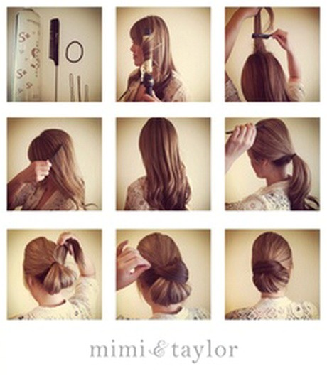 interview hairstyles for long hair