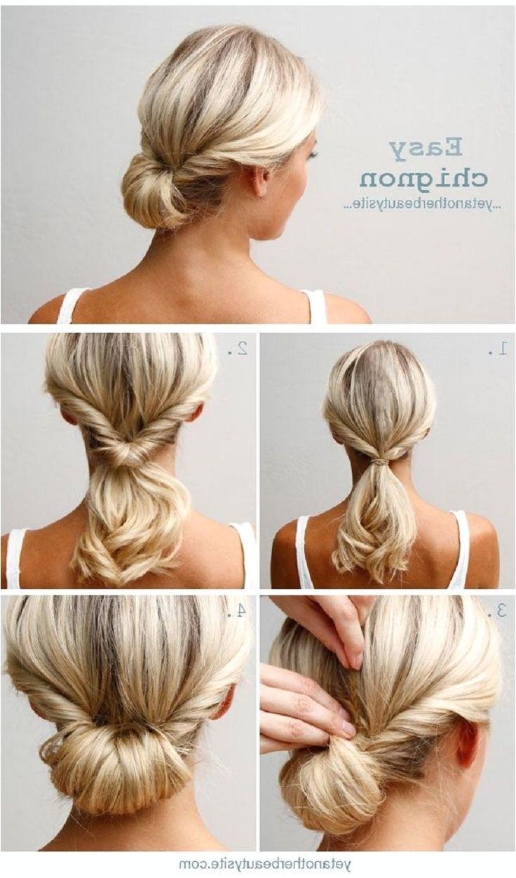 professional bun hairstyles