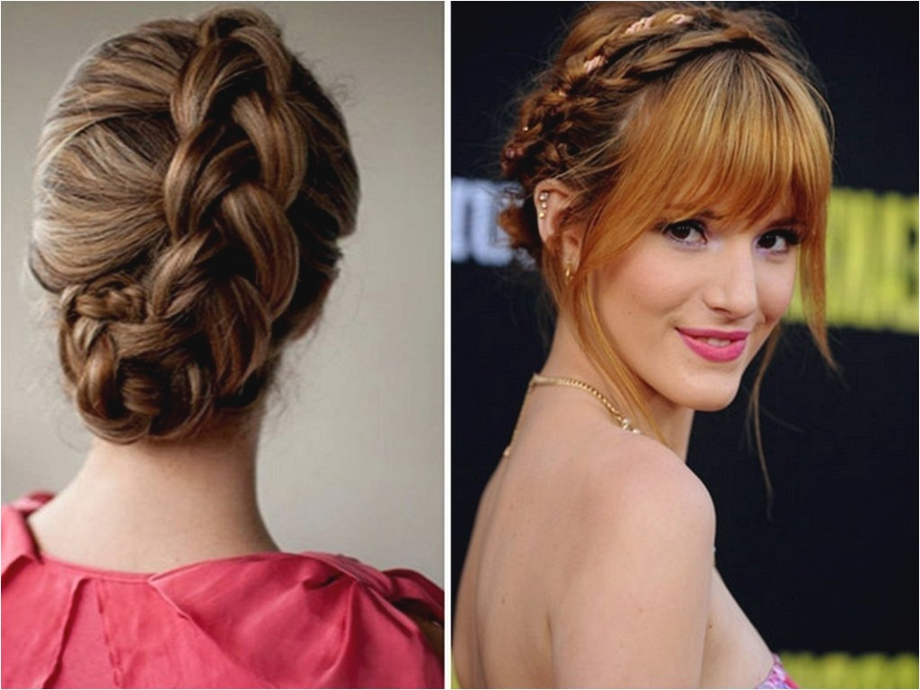 braided hairstyles with fringe