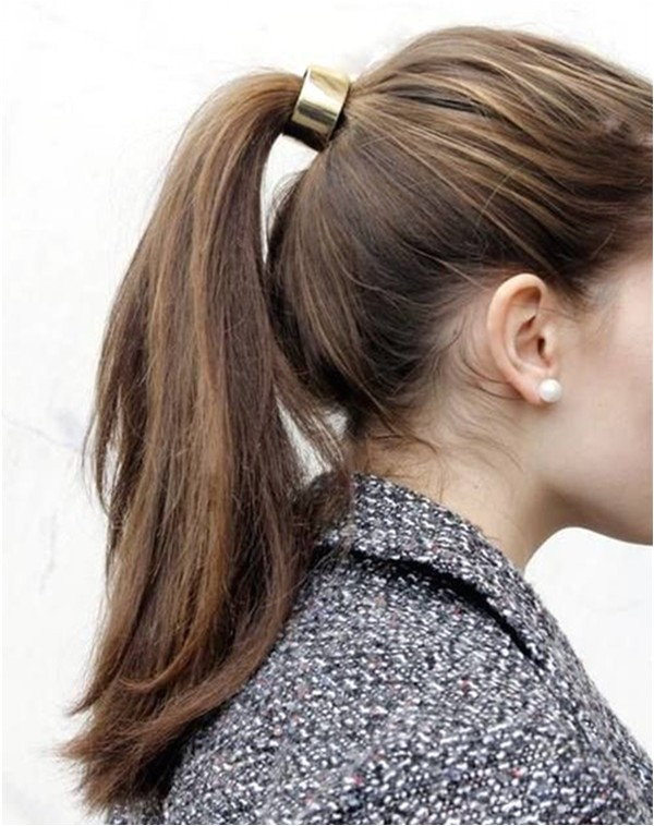 10 lovely ponytail hair ideas long hair easy within 5 minute