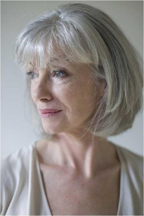 easy care short hair for older women