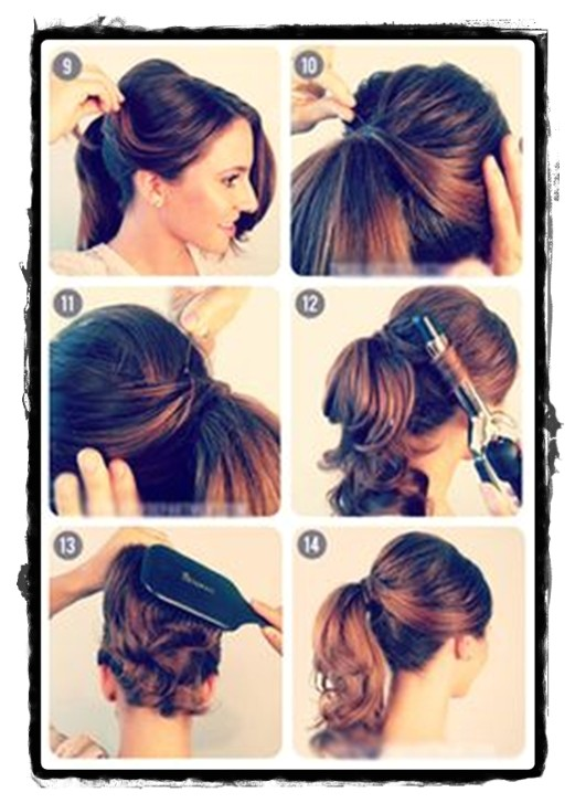 casual curly hairstyles for school