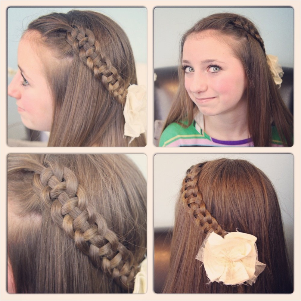 easy casual hairstyles for school
