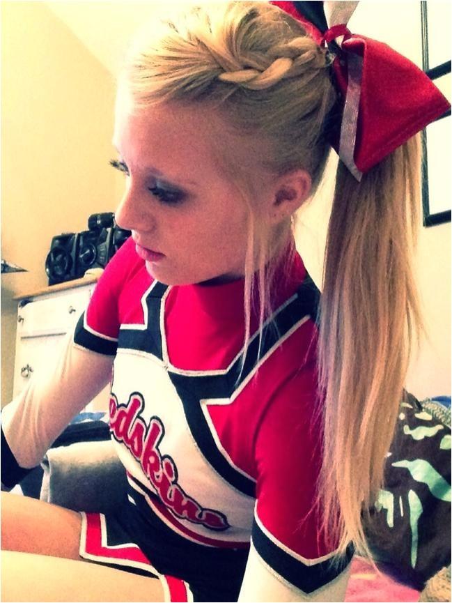 Easy Cheerleading Hairstyles 7 Cute Cheerleader Hairstyles