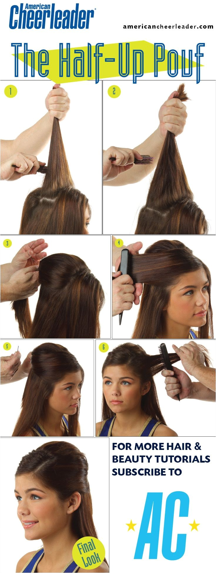 Easy Cheerleading Hairstyles Best 20 Cheerleader Hair Ideas On Pinterest