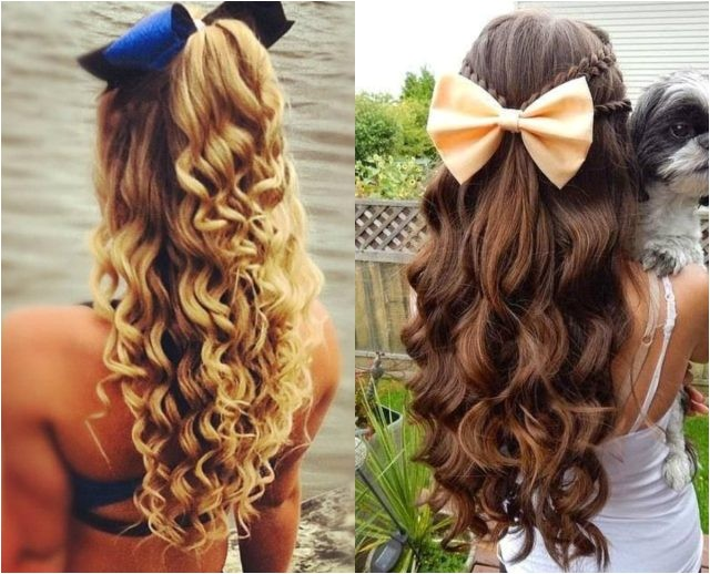 Easy Cheerleading Hairstyles Cute Cheerleader Hairstyles