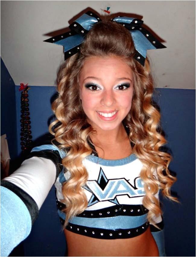 Easy Cheerleading Hairstyles Cute Cheerleading Hairstyles for Long Hair Best Hair Style