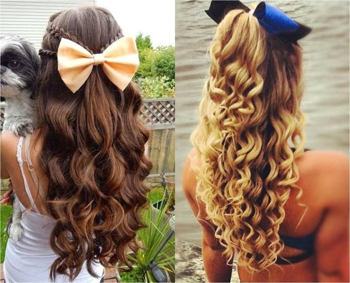 Easy Cheerleading Hairstyles Hairstyles for Cheerleaders