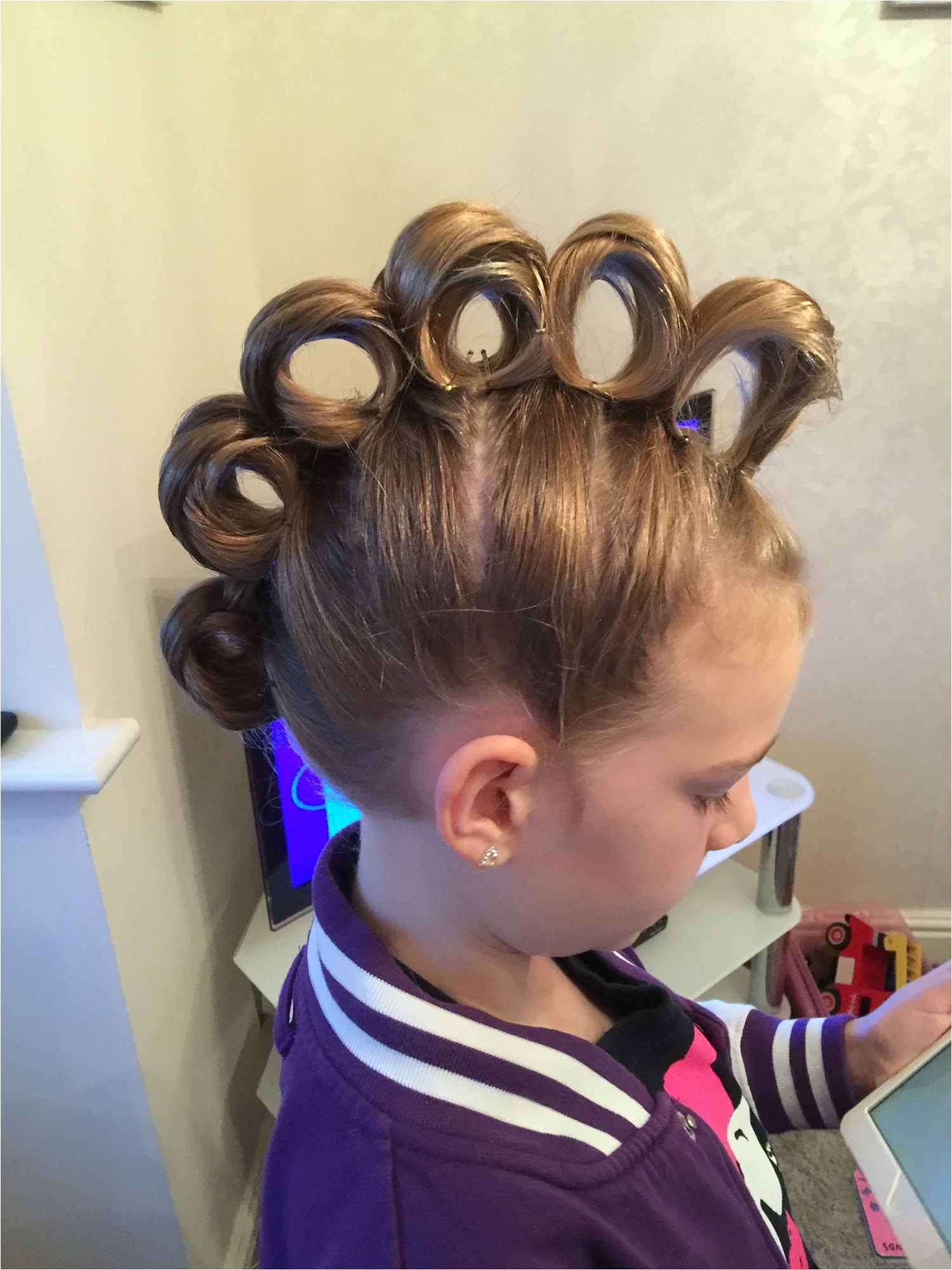 Easy Crazy Hairstyles for Crazy Hair Day 1