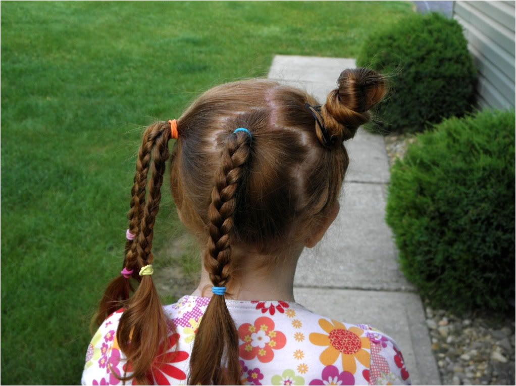 Easy Crazy Hairstyles for School 3