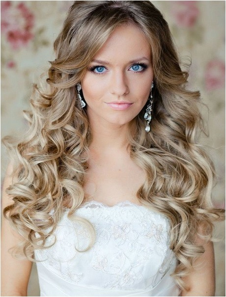 simple curly hairstyles for long hair