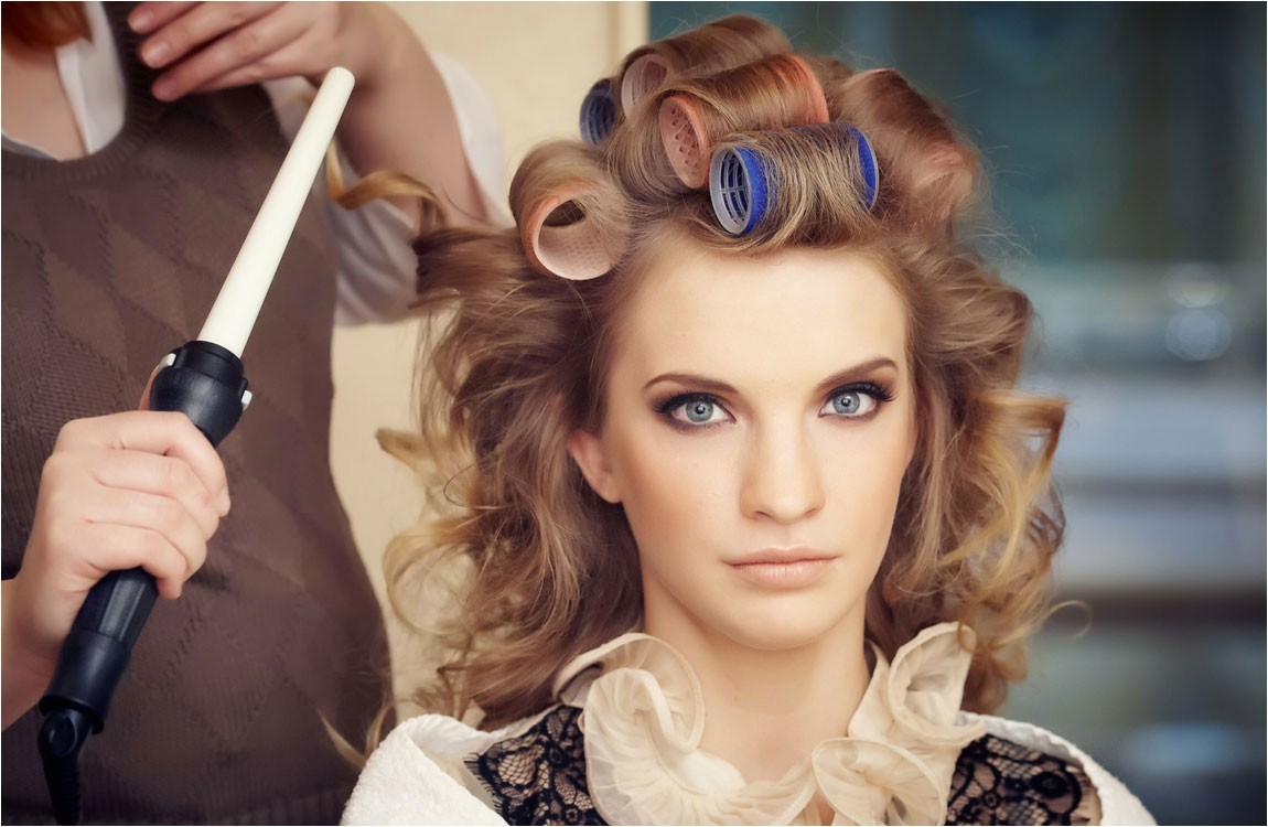 curling iron short hair