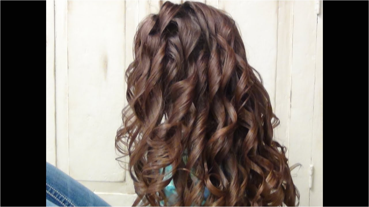 Easy Curling Iron Hairstyles Easy Curls Curly Long Hairstyles