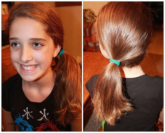 easy hairstyles for long straight hair for school