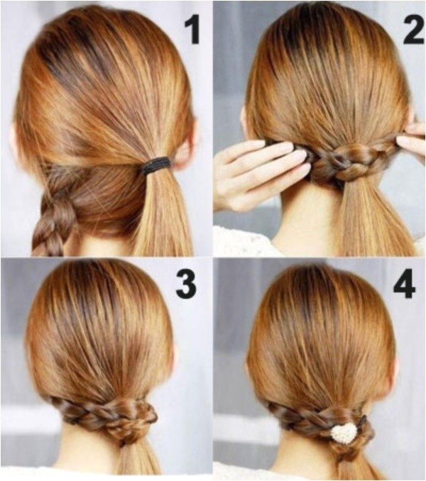 easy diy hairstyles for medium and long hair