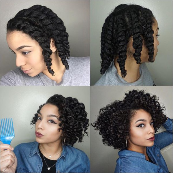 catchy flat twist hairstyles