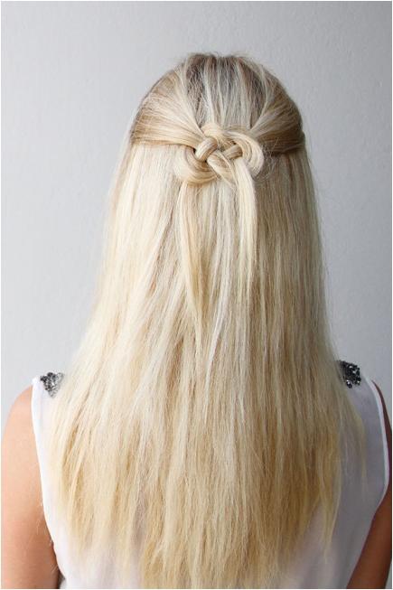 half up half down hairstyles