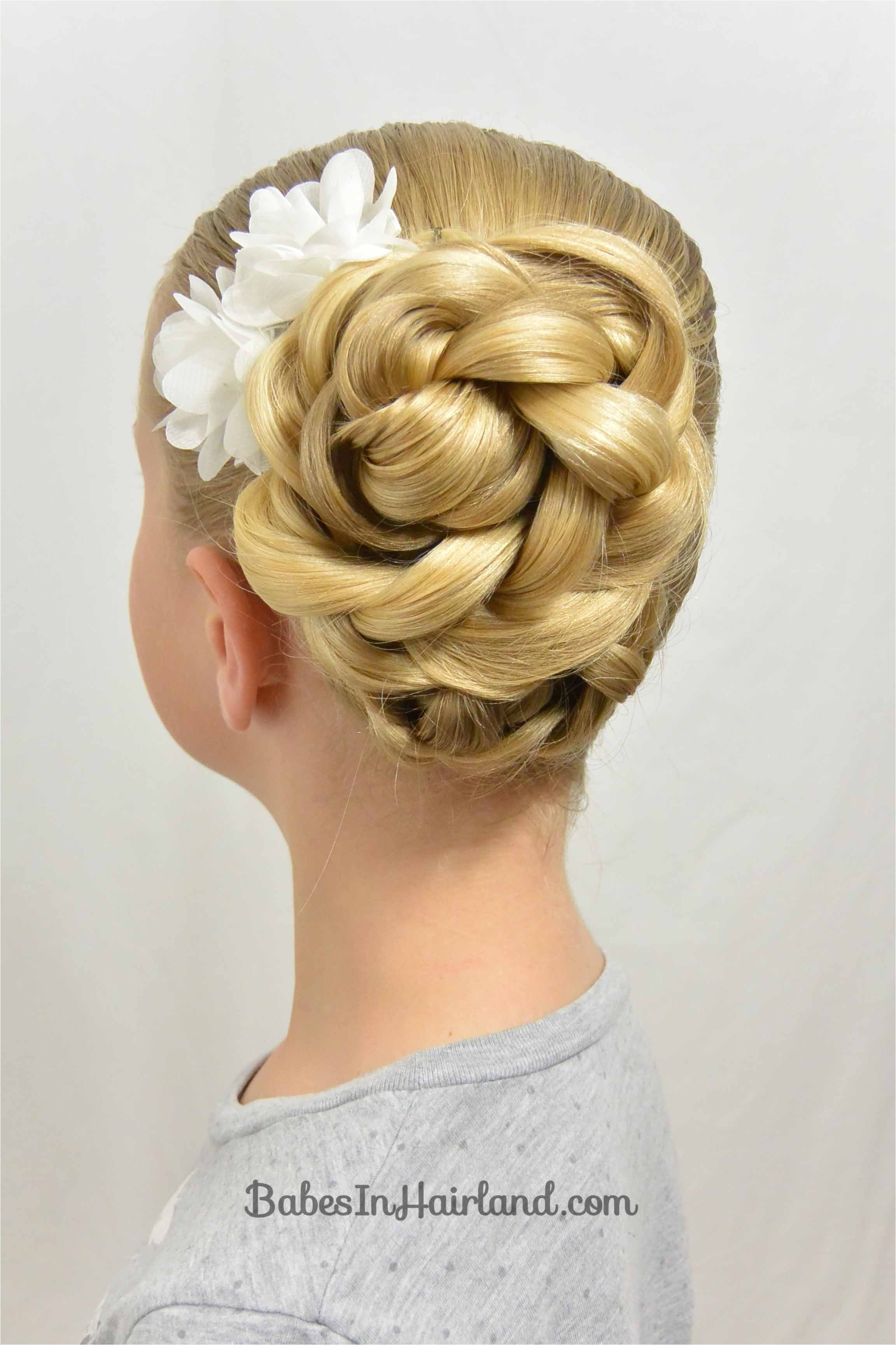 easy easter updo and a hair trick