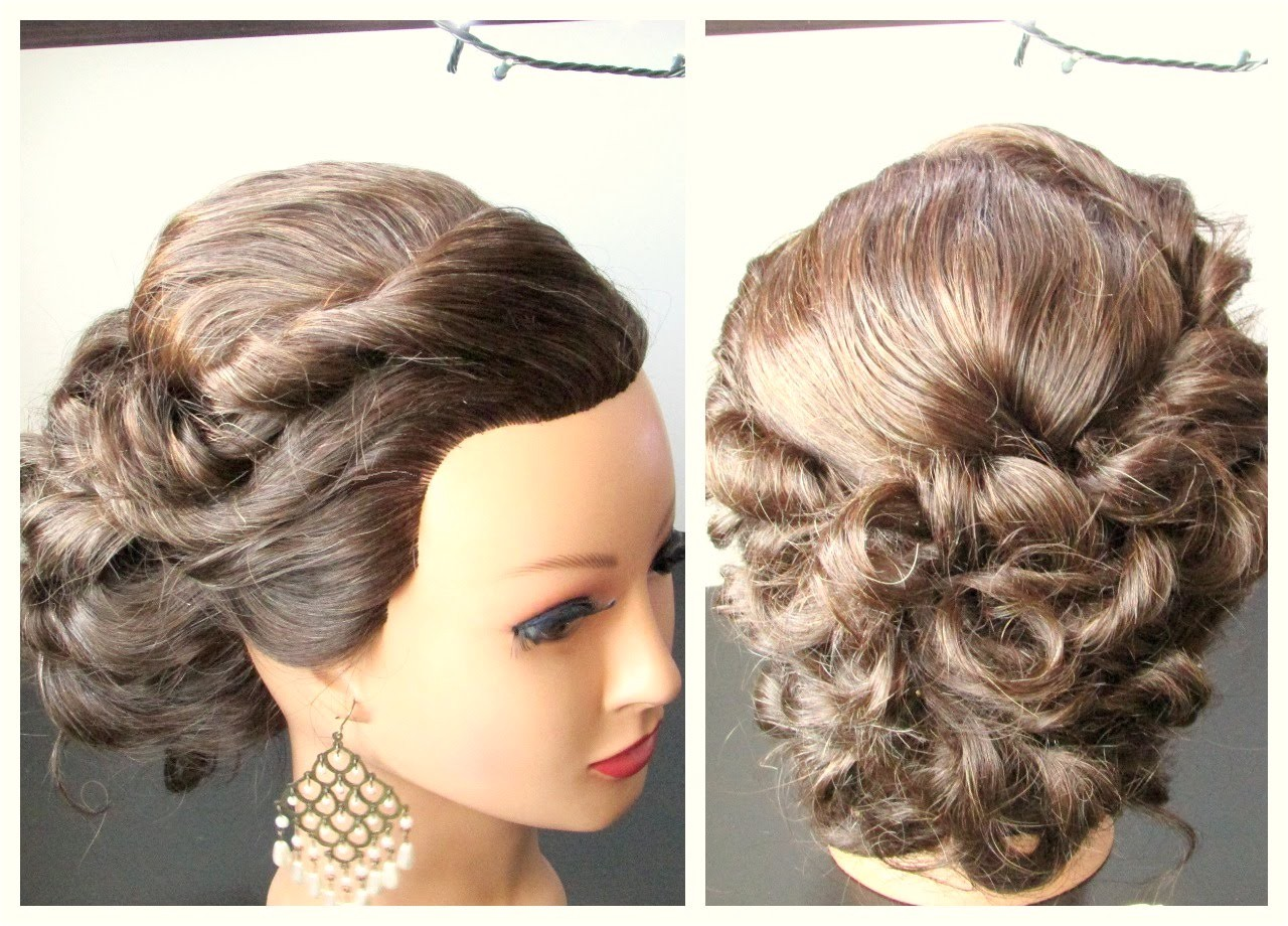 updos for medium hair prom