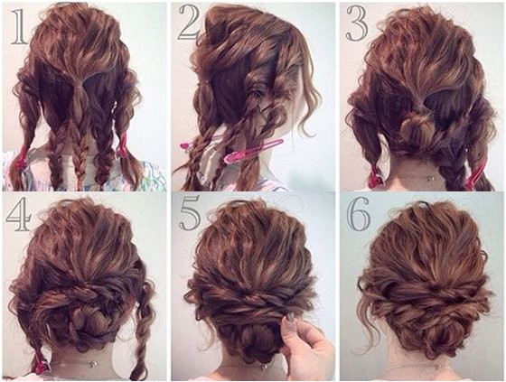 curly hair hair updos hacks tips tricks for prom pictures