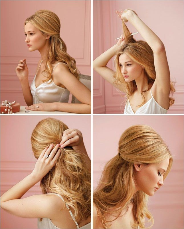 25 five minute less hairstyles that will save you from busy mornings
