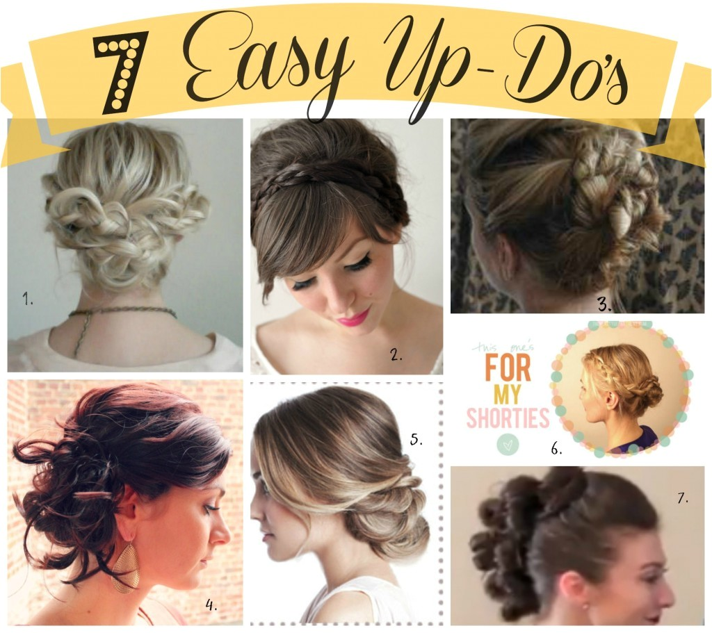 7 easy up dos for summer