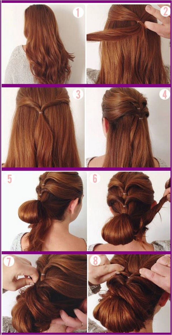 easy prom hairstyles instructions