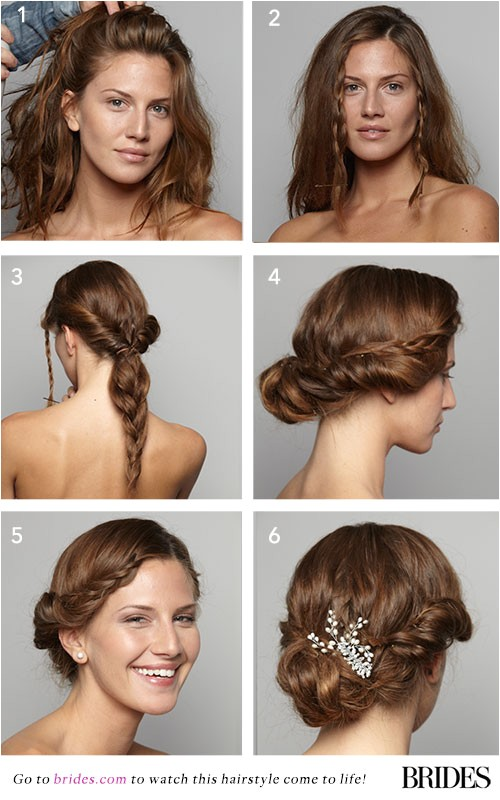 wedding hairstyles step by step instructions