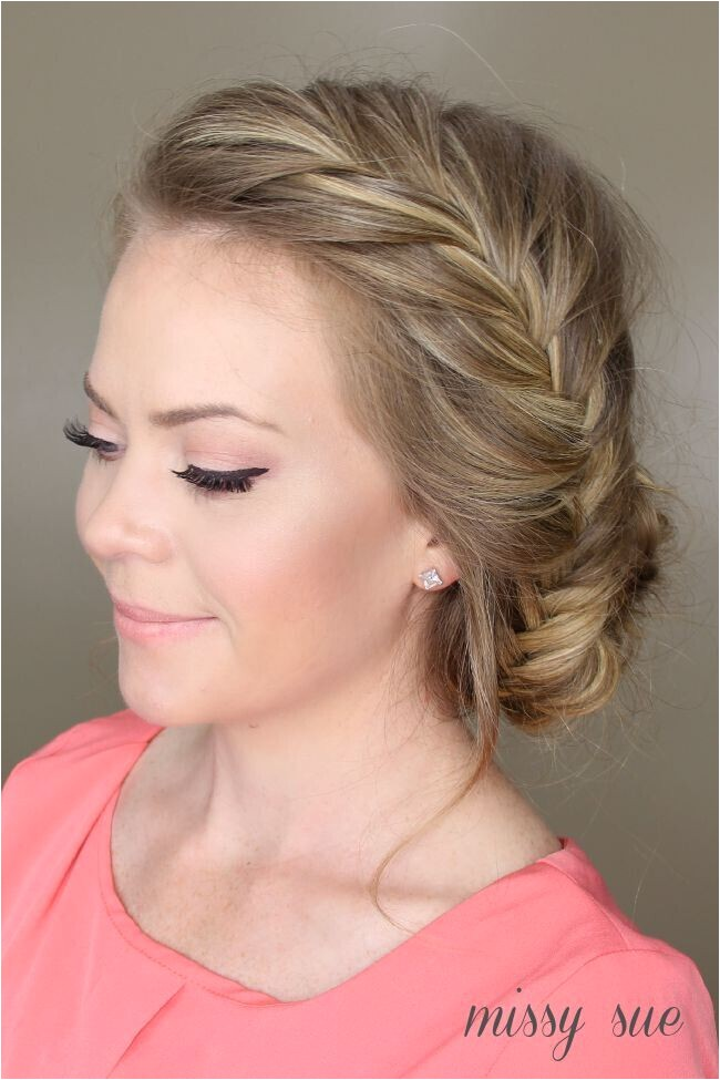 all new french braid updo hairstyles