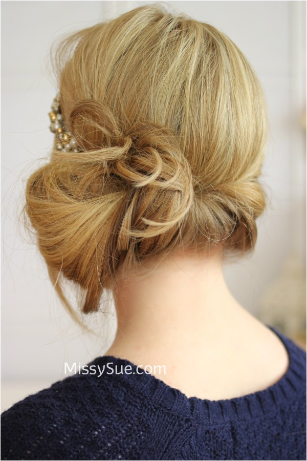 Easy Gatsby Hairstyles Tuck and Cover Great Gatsby Style