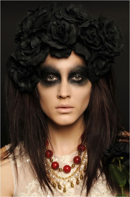 15 easy creative yet scary halloween hairstyles 2012 ideas designs for kids girls