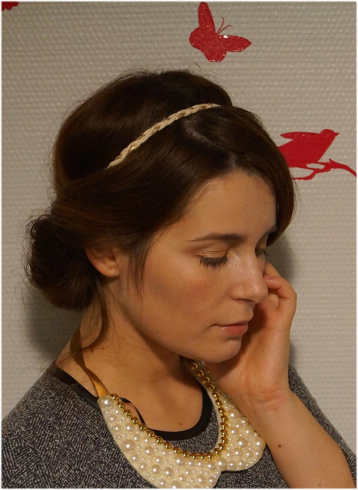 easy greek hairstyle tutorial